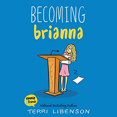 Becoming Brianna audiobook cover art