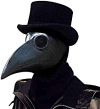 PartyHop Plague Doctor Mask Long Nose Bird Beak Steampunk Halloween Costume Props Mask