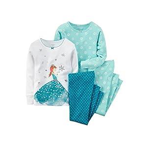 Carter's 4-Piece Ice Princess Pajama...