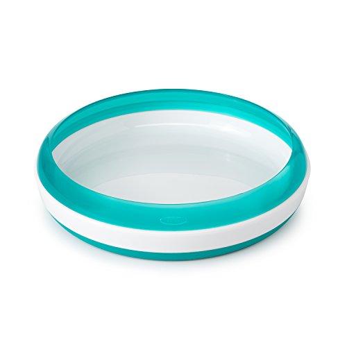 OXO Tot - Plato de entrenamiento azul turquesa verde claro
