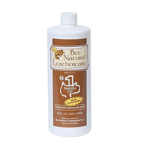 Bee Natural #1 Saddle Oil with Added Protection, 1 quart, Clear