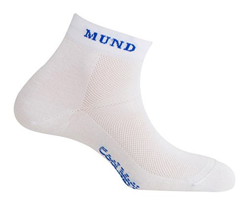 MUND Cycling 802 Chaussettes pour Femme-Blanc-Taille M (38-41)