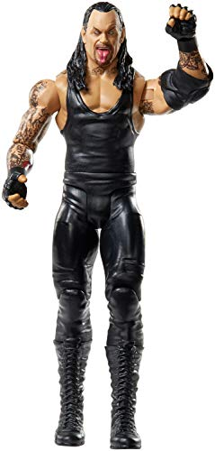 WWE Action Figure in 6-inch Scale with Articulation & Ring Gear, Undertaker, Multicolor, Model:GCB83