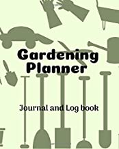 Gardening Planner Journal and Logbook: Garden Journal & Tracking Handbook for Gardeners | Beautiful Organic Gardening project planning and idea ... for fun and love | Flower, Seed and Grains