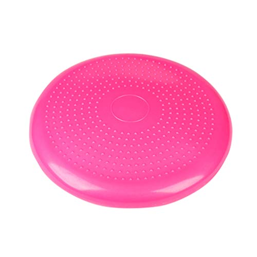 XGYUII Balance Cushion Stability Balance Disc Inflatable Anti-Slip Stability Board for Physio Posture Fitness Extra Thick Wobble Cushion Workout Posture(33cm),Pink,33cm