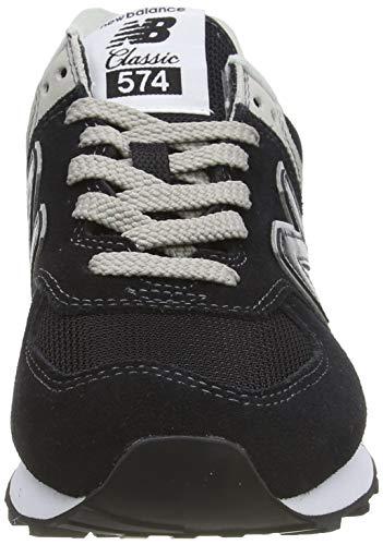 New Balance Mujer 574v2 Core, Zapatillas Negro (Black), 38 EU