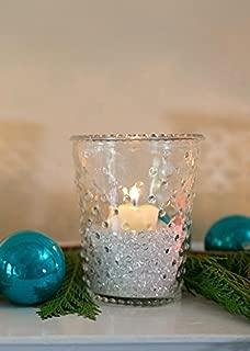 Heirloom Hobnail Glass Floral Vase - 5