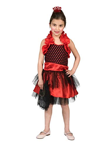 Funny Fashion Spanisches Mädchen Spanierin Kinderkostüm Flamenco Kleid Kostüm Kinder
