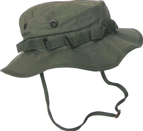 PURECITY Boonie Hat Chapeau Brousse Jungle US Army Commando Trooper - Coloris Kaki - Taille Médium - Airsoft - Paintball - Chasse - Pêche - Randonnée