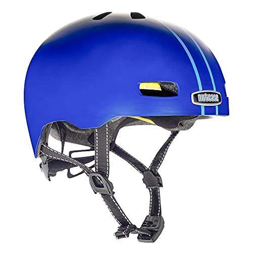 Nutcase Street-Ocean Stripe Helm, Mehrfarbig, M