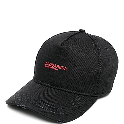 Dsquared 2 Gorra Logo Rojo Negro Talla Única