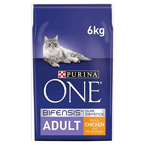 Purina One - Cibo secco per gatti adulto, 6kg