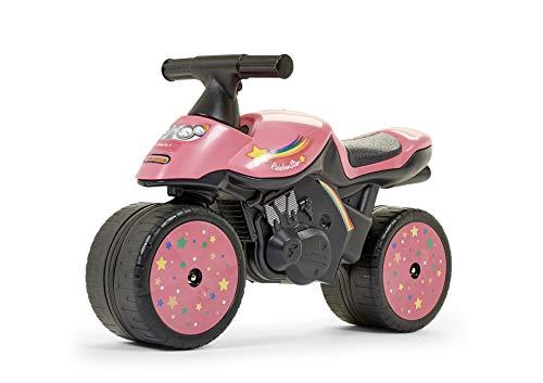 Falke Falk–400–Bicicletta e Veicolo per Bambini–Moto Xrider–Rosso