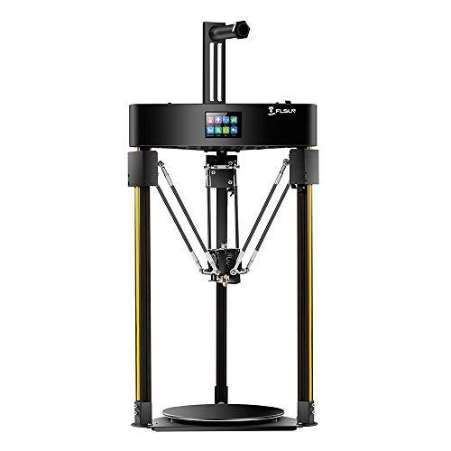 Imprimante 3D FLSUN Q5 Delta 3D Printer 200x200 Impression Taille Auto-Leveling écran Tactile Lattice Verre Plate-Forme Zys