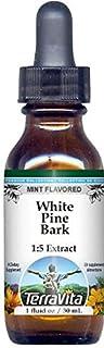 White Pine Bark Glycerite Liquid Extract (1:5) - Mint Flavored (1 oz, ZIN: 523225)