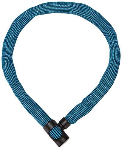 ABUS Kettenschloss Ivera Chain 7210/85 Diving Blue – Fahrradschloss mit Kunstfaserummantelung – Sicherheitslevel 8 – 85 cm – 87779 – Blau