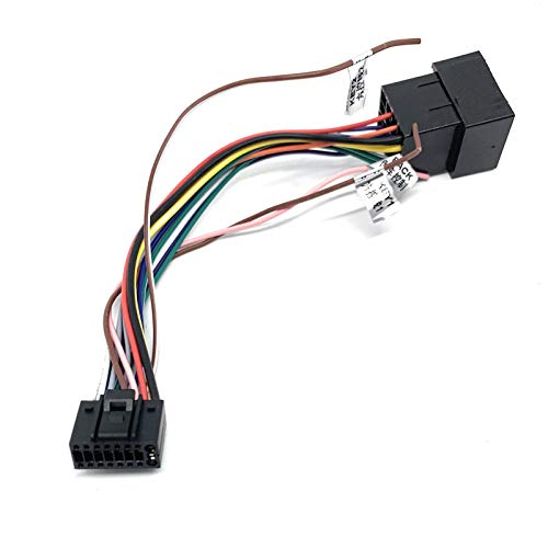 Sound-Way - Cable Adaptador de 16 Pines a ISO para Android Radio de Coche, Enchufe Estándar ISO - C-AND01