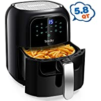 Tewiky 5.8 Quart,1400 Watt 60 Minutes Digital Air Fryers