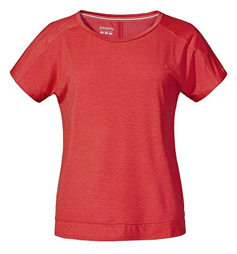 Schöffel Damen Riessersee2 T-Shirt, Lollipop, 42