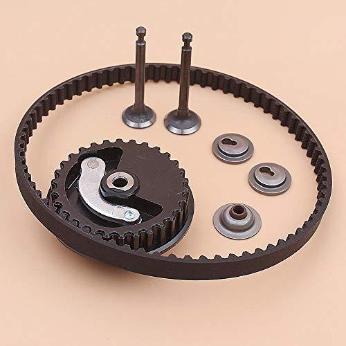 Beixi Zeit Zahnriemen Nockenwellenrad for Honda GX25 GX 25 Intake Auslaßventilhalter Stem Seal Set Trimmer Brushcutter Motor