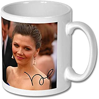 Star Prints UK Maggie Gyllenhaal 1 Large Mug 11cm - High Resolution Image with Personalisation Availible for Any Occasion (No Personalised Message)