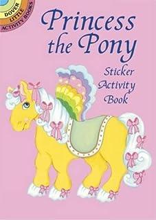 Princess the Pony Sticker Activity