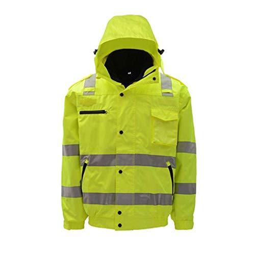 Werkkleding Hi Vis Viz Regenkleding Hi Vis Zichtbaarheid Veiligheid Werk Kleding Reflecterende Kleding L