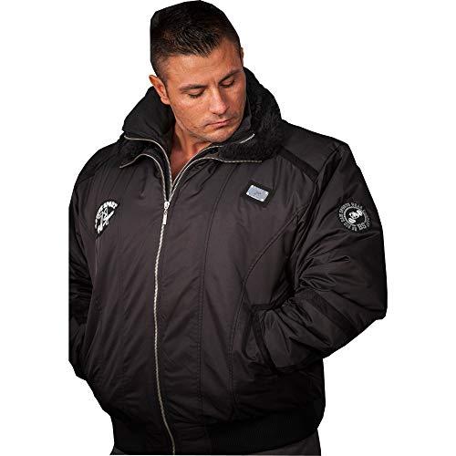 BIG SM EXTREME SPORTSWEAR Herren Jacke Bomberjacke Sweatshirt Jacke Blouson 4056 XXL