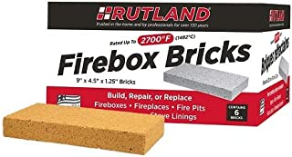 Rutland Products Fire Brick, 6 count, Pack of 1
