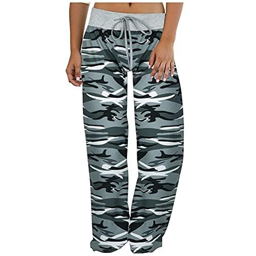 N\P Pantalones deportivos de talla grande para mujer Pantalones deportivos femeninos para mujer