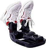 XQKQ Secador de Zapatos eléctrico Calentador de Botas Ambientador de Zapatos Calentador portátil Desodorizador de ozono con Controles Digitales Función de Temporizador para Calcetines