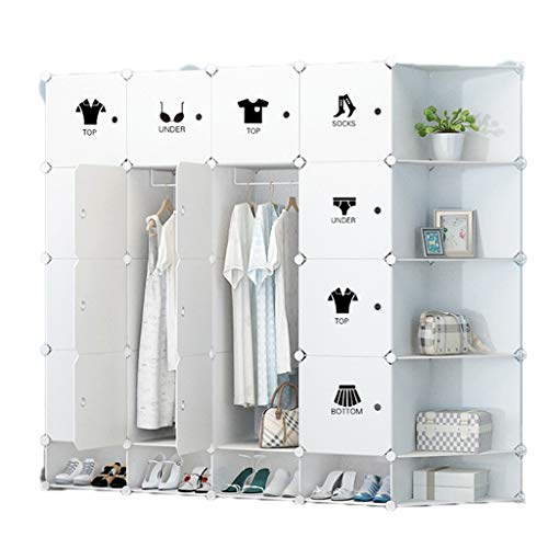Tragbarer Kleiderschrank, Umweltfreundliches Pp-Material, Modulare Aufbewahrungs- Und...