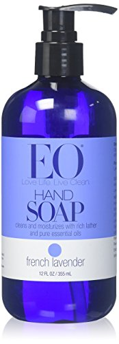 EO Products Liquid Hand Soap - French Lavender - 12 oz