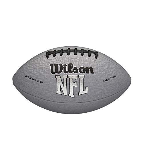 Wilson NFL MVP Official Football Gray Version Official Age 14