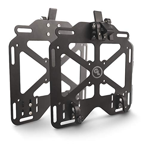 Giant Loop Pannier Mounts for Soft Motorcycle Luggage, 2-Piece Set
