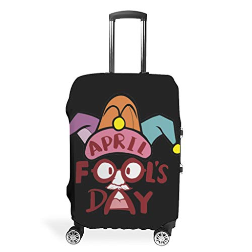 Protección para maleta de viaje del primer abril, fácil de identificar, 4 tamaños, se adapta a la mayoría de maletas., blanco (Blanco) - Mentmate Store-XLXT
