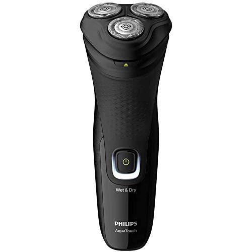 Barbeador elétrico seco ou molhado com aparador Shaver 1200, 1 velocidade, Preto, Bivolt- Philips