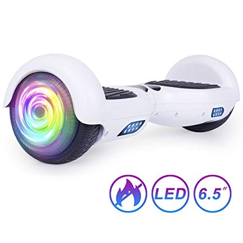 SISIGAD Hoverboard, Self Balancing Hoverboard, 6.5' Two-Wheel Self Balancing Scooter, Smart Hover Board for Kids Gift, Adult Electric Scooter, UL 2272 Certified