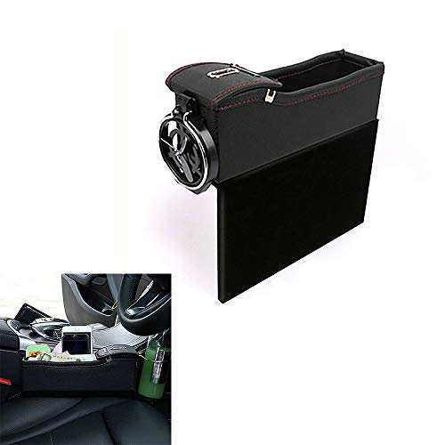OUZHOU Bilstol spricka förvaringsbox kopp organiserare dryckhållare auto lucka ficka spara beställning telefon dyna kort handväska tillbehör