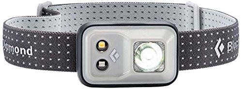 Black Diamond Cosmo Headlamp Aluminium / Outdoor Stirnlampe mit Rotlicht und Dimmfunktion / Batteriebetrieben, max. 200 Lumen