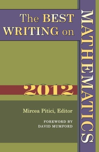 Image of The Best Writing on Mathematics 2012
