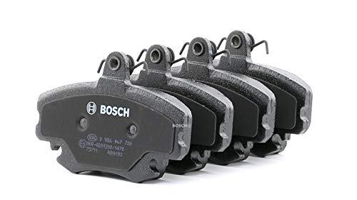 Preisvergleich Produktbild BOSCH Bremsbelagsatz für Scheibenbremse,  0 986 467 720