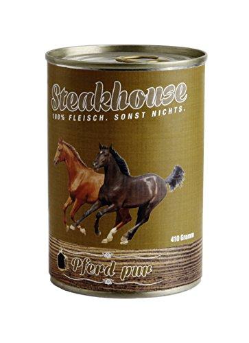 Fleischeslust Steakhouse Pferd Pur, 1er Pack (1 x 820 g)