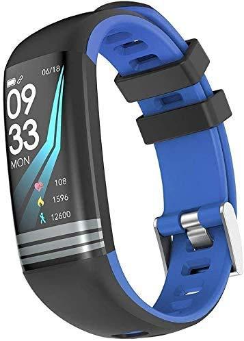 JIAJBG G26S - Pulsera inteligente con seguimiento de fitness y pulsera inteligente con Bluetooth, resistente al agua, pulsera inteligente con Bluetooth, pulsera deportiva