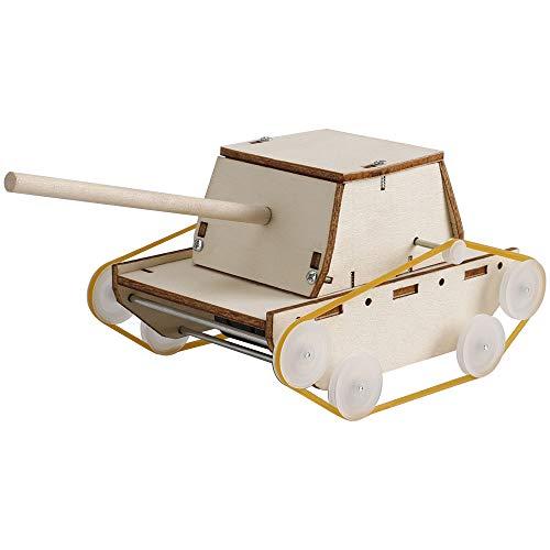 ALIANSHOP STEM Electric Motor Catalyst, DIY Tank Toy, Mechanical Assembly Gift Toys Kit
