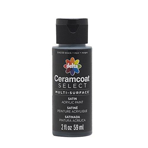 Plaid : Delta Ceramcoat Select Peinture Multi-Surfaces Noir 15 ML