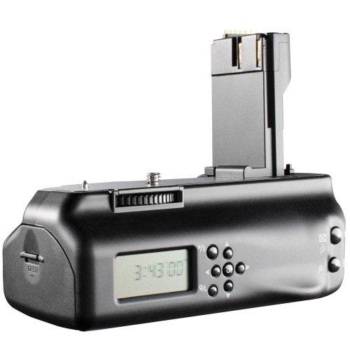 Aputure BP-E2 II - Empuñadura de batería con Pantalla LCD para Canon EOS 20D/30D/40D/50D