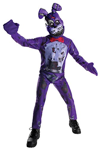 Five Nights At Freddy's Nightmare Bonnie Costume Child Medium