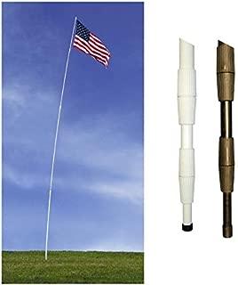 Telescoping Superflex Poles - 15ft - White