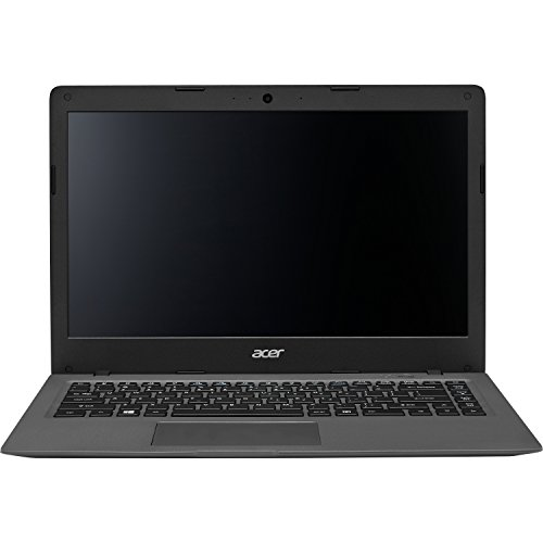 Acer Aspire One 14' Cloudbook AO1-431-C8G8 Laptop PC with Intel Celeron N3050, 2GB Memory, 32GB eMMC, Windows 10 and Office 365 Personal Mineral Gray